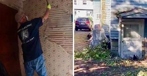 Un electricista le remodeló la casa a una anciana de 72 años, sin cobrarle nada