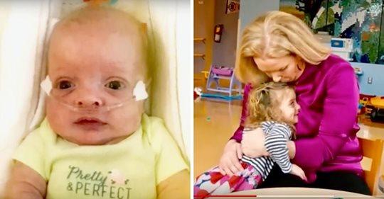 Enfermera adopta a una bebé prematura que no había recibido ninguna visita en 5 meses