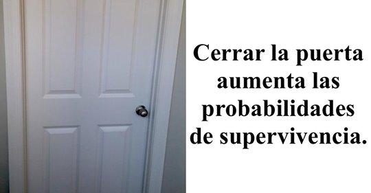 4 razones para cerrar la puerta del dormitorio por la noche