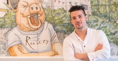 Carlos Maldonado, el chaval que vendía jamones y ahora tiene un restaurante Michelin