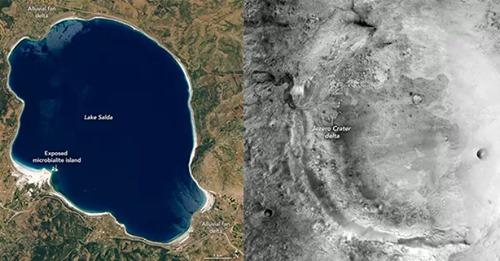 El 'lago marciano' turco que mostró el rumbo al Perseverance