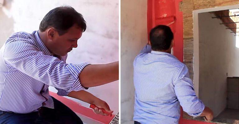 Pastor de iglesia utiliza diezmo para construir casas a personas pobres
