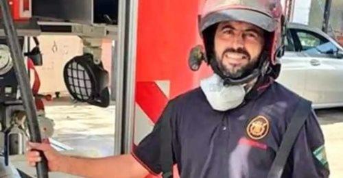 Manuel, el bombero de 44 años que ha perdido la vida en un suceso en España
