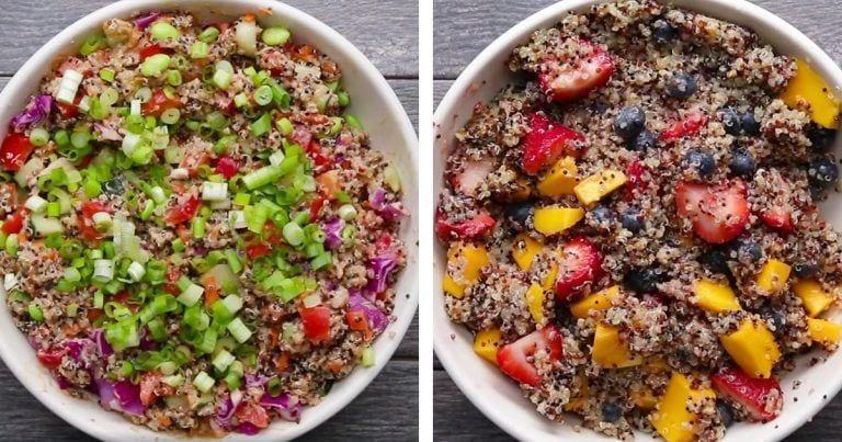4 ensaladas con quinoa para probar ya