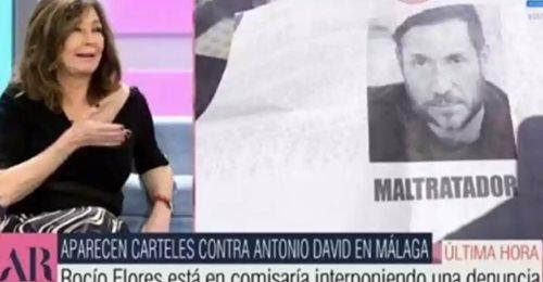 Ana Rosa Quintana muestra la denuncia que acaba de poner Rocío Flores