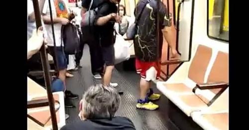 El joven detenido por agredir a un sanitario en el Metro de Madrid residía en España de forma ilegal