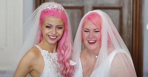 Una pareja de lesbianas con 37 años de diferencia de edad se ha casado oficialmente