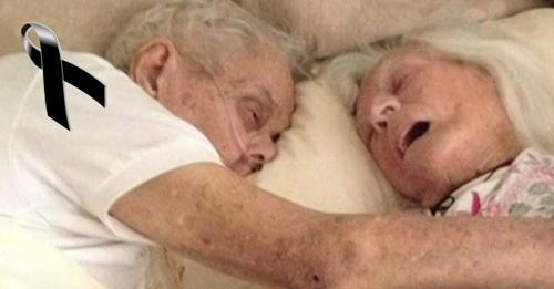 Tras 75 años de casados, partieron al cielo el uno en los brazos del otro